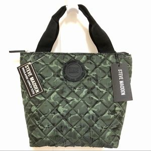 💚NWT💚 Steve Madden Insulated Lunch Tote Camo